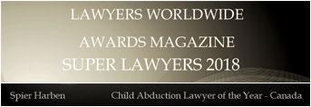 Lawyers Worldwide Awards Magazine - Super Lawyers 2018