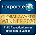 CorporateINTL - Global Award Winner 2019 - child abduction lawyer of the year 2020